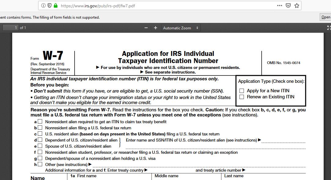 米国で納税者番号を取得する!後編 ITIN NUMBER の取得の段取り
