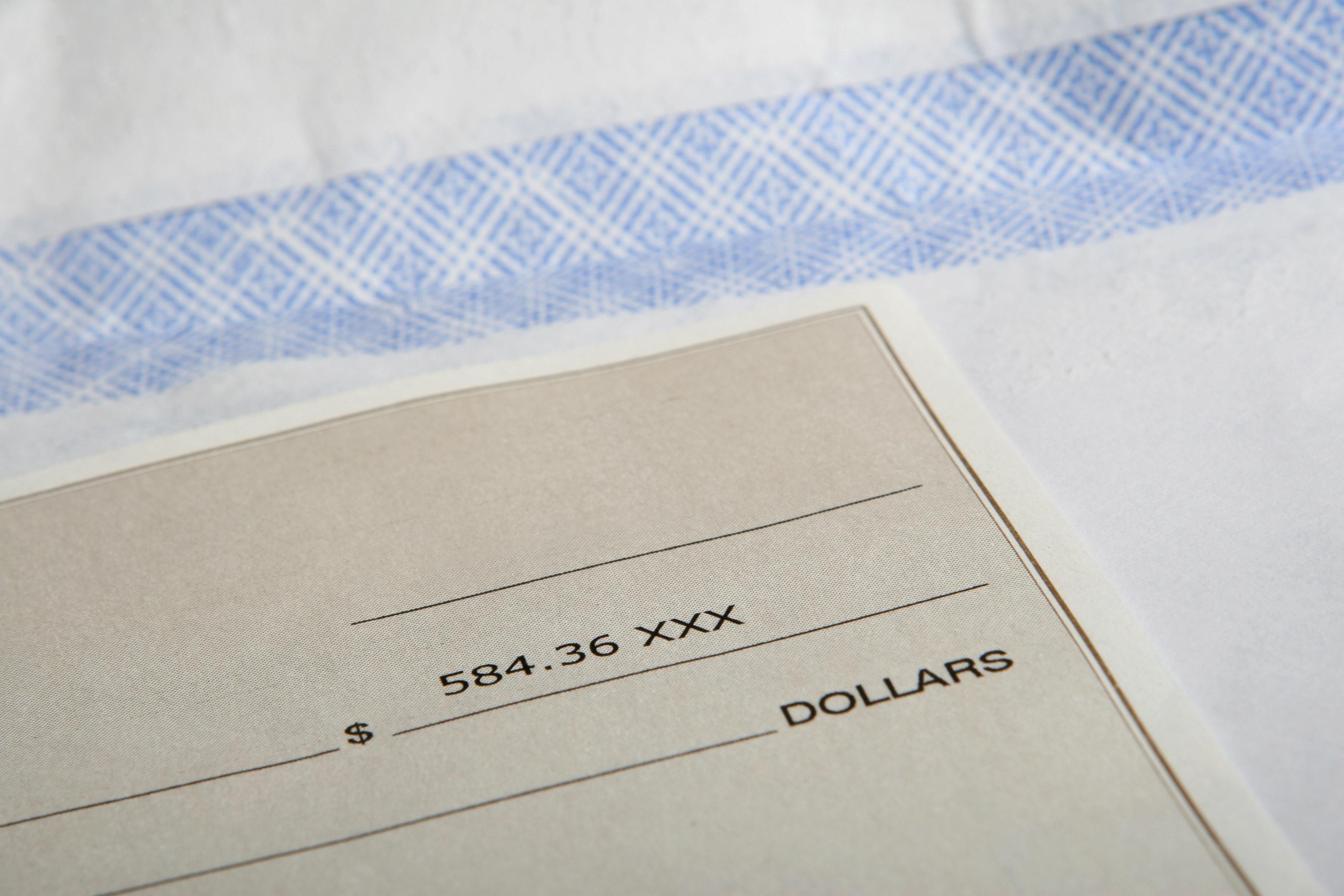 アメリカの小切手システム説明 Personal Check, Cashier's Check, Bad Check, Canceled Check